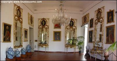 Primo piano museo correale sorrento - Sala degli specchi ...